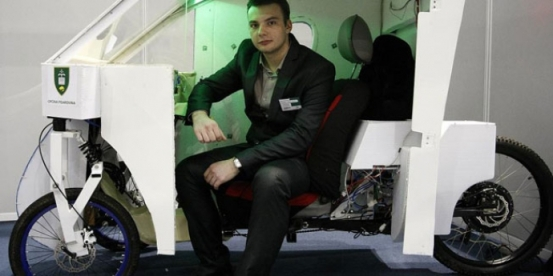 Croatian Student Invents Solar vehicle