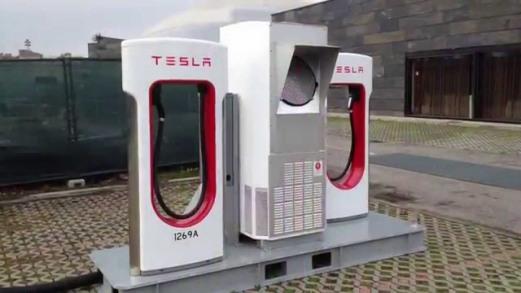 Tesla Super Charger Hercules Power Energy