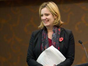 UK Energy Secretary Amber Rudd