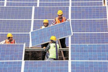 Though coal will continue to be India's main source of power, solar power will account for around 18% of it by 2030 compared with only 1% at present.